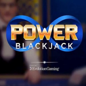 لعبة Power Blackjack من Evolution Gaming